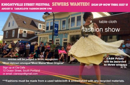 Table Cloth Fashion Show – 08/12/2017 5PM
